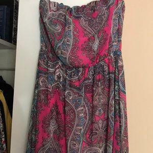 Long paisley summer dress